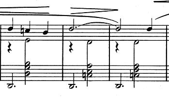 エリック・サティ「3つのジムノペディ」第1番ニ長調 ピアノ楽譜3