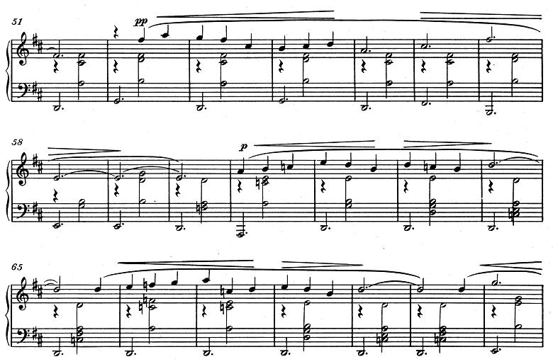 エリック・サティ「3つのジムノペディ」第1番ニ長調 ピアノ楽譜4