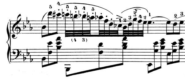 ショパン「ノクターン第2番変ホ長調Op.9-2」ピアノ楽譜3