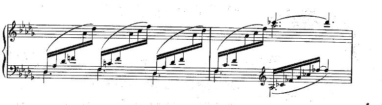 ドビュッシー「ベルガマスク組曲第3曲『月の光』変ニ長調L.75-3」ピアノ楽譜
