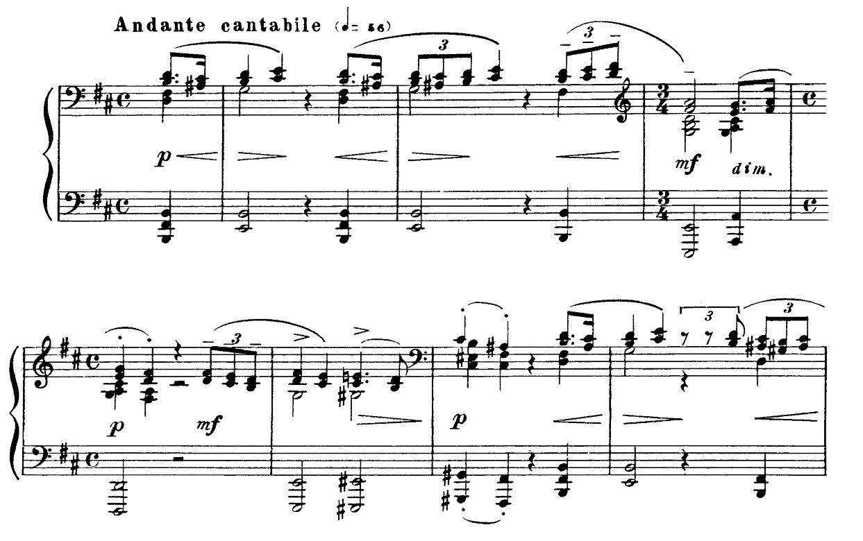 ラフマニノフ「楽興の時第3番ロ短調Op.16-3」ピアノ楽譜