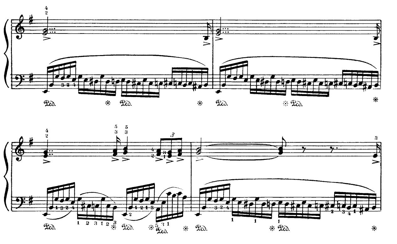 ラフマニノフ「楽興の時第4番ホ短調Op.16-4」ピアノ楽譜3