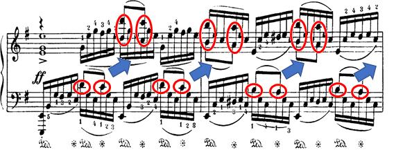 ラフマニノフ「楽興の時第4番ホ短調Op.16-4」ピアノ楽譜4