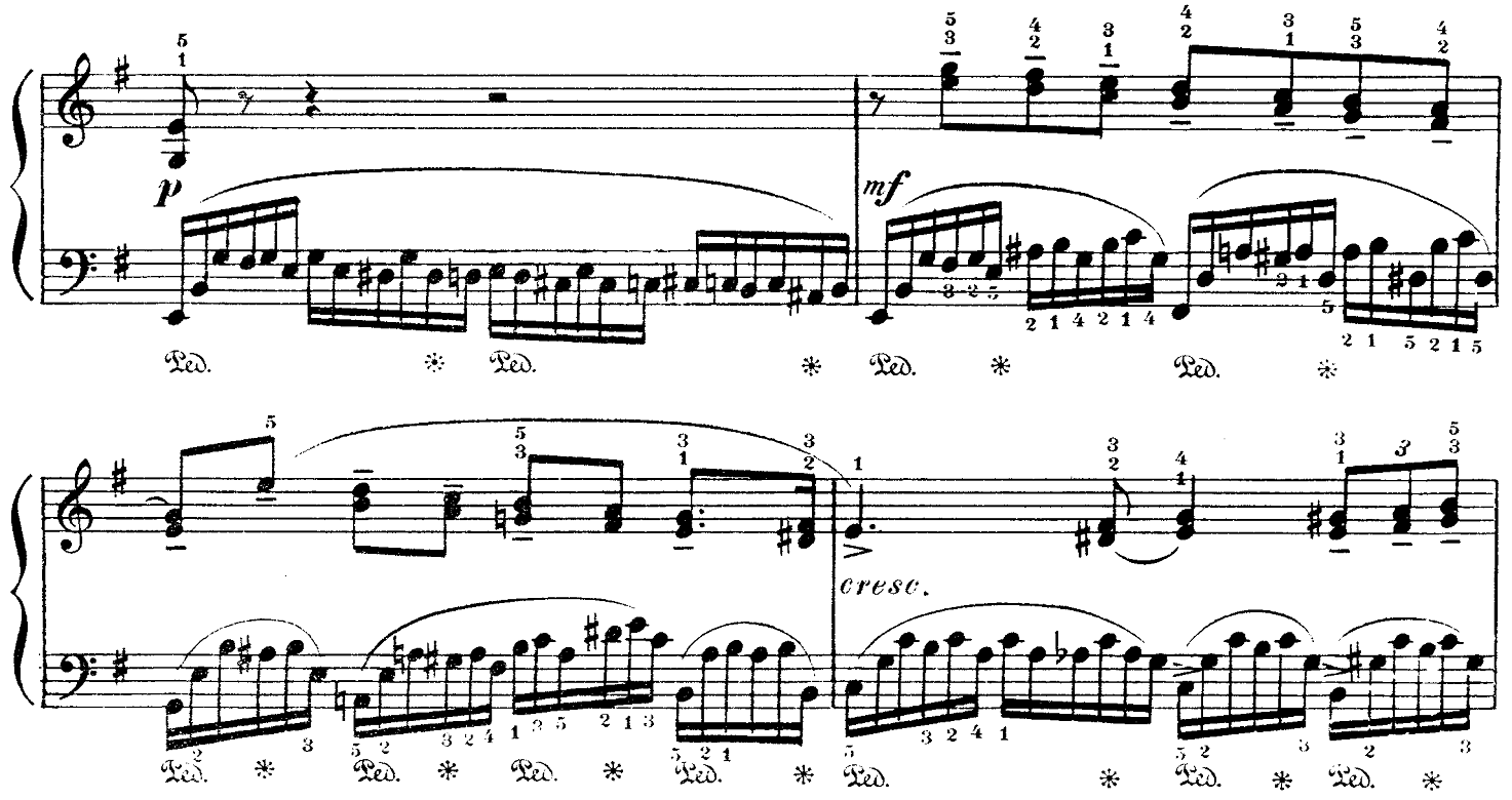 ラフマニノフ「楽興の時第4番ホ短調Op.16-4」ピアノ楽譜5