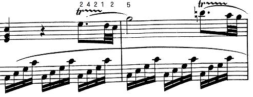 モーツァルト「ピアノソナタ第12番ヘ長調K.332第1楽章」ピアノ楽譜6