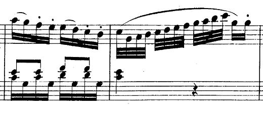 モーツァルト「ピアノソナタ第10番ハ長調K.330第1楽章」ピアノ楽譜2
