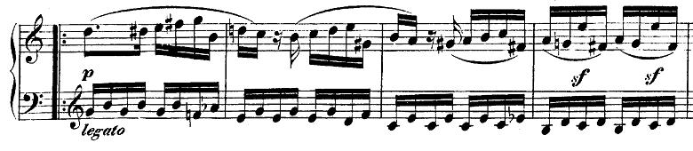 モーツァルト「ピアノソナタ第10番ハ長調K.330第1楽章」ピアノ楽譜6