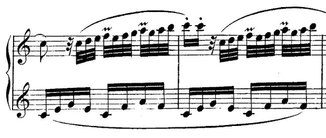 モーツァルト「ピアノソナタ第10番ハ長調K.330第1楽章」ピアノ楽譜10