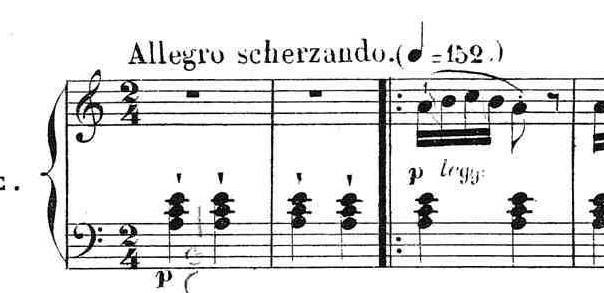 ブルグミュラー「25の練習曲第2番「アラベスク」イ短調Op.100-2」ピアノ楽譜