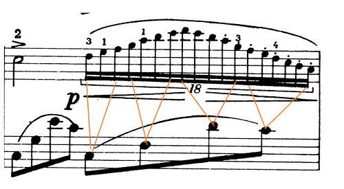 ショパン「ノクターン第20番嬰ハ短調遺作」ピアノ楽譜1