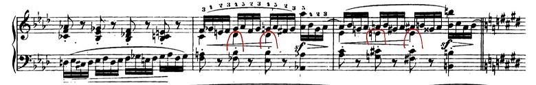 ショパンエチュードOp.10-4嬰ハ短調 ピアノ楽譜2