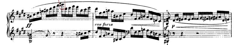 ショパンエチュードOp.10-4嬰ハ短調 ピアノ楽譜4