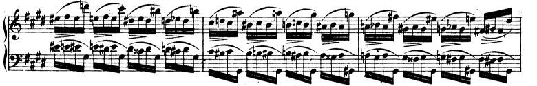 ショパンエチュードOp.10-4嬰ハ短調 ピアノ楽譜5