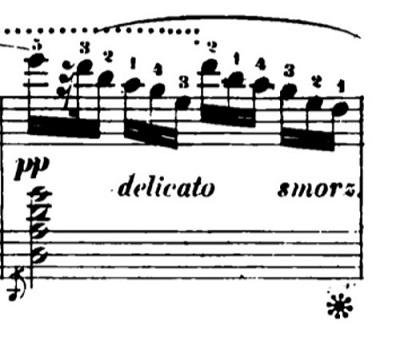 ショパン「黒鍵のエチュード」Op.10-5変ト長調 ピアノ楽譜3