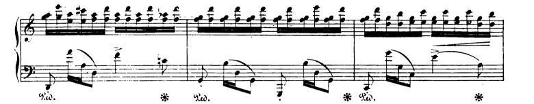 ショパンエチュードOp.10-7ハ長調 ピアノ楽譜2