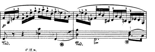 ショパンエチュードOp.10-8ヘ長調 ピアノ楽譜2