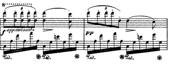ショパンエチュードOp.10-9ヘ短調 ピアノ楽譜1
