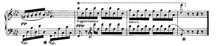 ショパンエチュードOp.10-9ヘ短調 ピアノ楽譜2