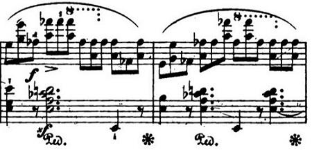 ショパンエチュードOp.10-10変イ長調 ピアノ楽譜5