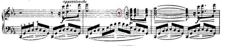 ショパン「革命のエチュード」Op.10-11ハ短調 ピアノ楽譜2
