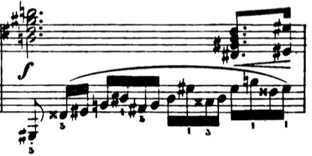 ショパン「革命のエチュード」Op.10-11ハ短調 ピアノ楽譜3