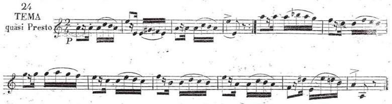 リスト「パガニーニによる大練習曲第6番「主題と変奏」イ短調S.141-6」ピアノ楽譜1