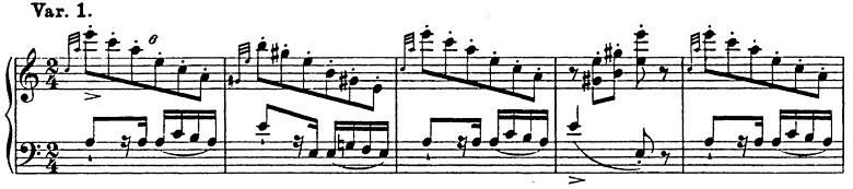 リスト「パガニーニによる大練習曲第6番「主題と変奏」イ短調S.141-6」ピアノ楽譜3