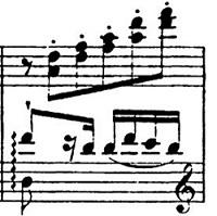 リスト「パガニーニによる大練習曲第6番「主題と変奏」イ短調S.141-6」ピアノ楽譜4