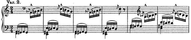 リスト「パガニーニによる大練習曲第6番「主題と変奏」イ短調S.141-6」ピアノ楽譜5