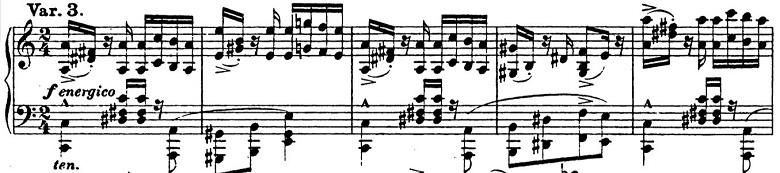 リスト「パガニーニによる大練習曲第6番「主題と変奏」イ短調S.141-6」ピアノ楽譜6