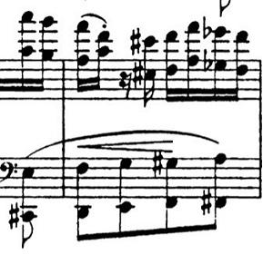 リスト「パガニーニによる大練習曲第6番「主題と変奏」イ短調S.141-6」ピアノ楽譜7