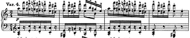 リスト「パガニーニによる大練習曲第6番「主題と変奏」イ短調S.141-6」ピアノ楽譜8