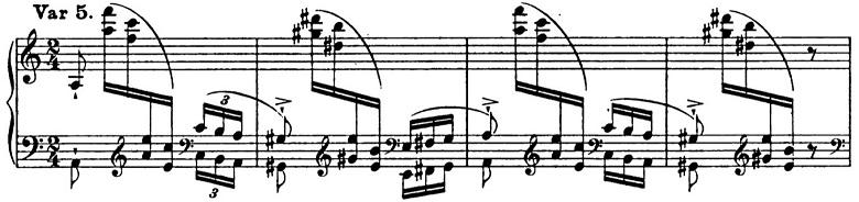 リスト「パガニーニによる大練習曲第6番「主題と変奏」イ短調S.141-6」ピアノ楽譜9