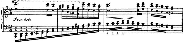 リスト「パガニーニによる大練習曲第6番「主題と変奏」イ短調S.141-6」ピアノ楽譜10