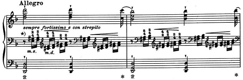 リスト「超絶技巧練習曲集第4番「マゼッパ」」ピアノ楽譜