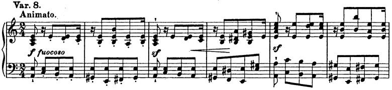リスト「パガニーニによる大練習曲第6番「主題と変奏」イ短調S.141-6」ピアノ楽譜12