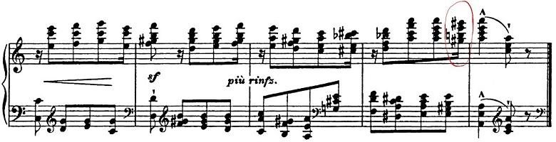 リスト「パガニーニによる大練習曲第6番「主題と変奏」イ短調S.141-6」ピアノ楽譜13