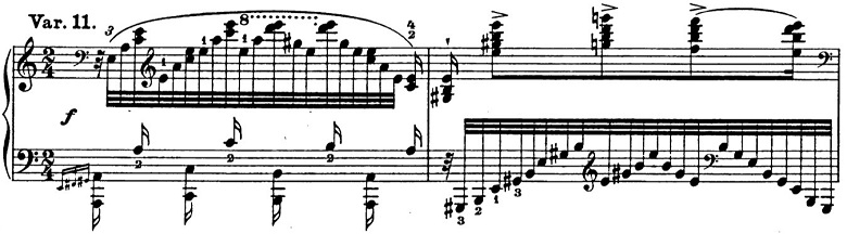リスト「パガニーニによる大練習曲第6番「主題と変奏」イ短調S.141-6」ピアノ楽譜16