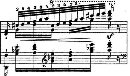 リスト「パガニーニによる大練習曲第6番「主題と変奏」イ短調S.141-6」ピアノ楽譜17
