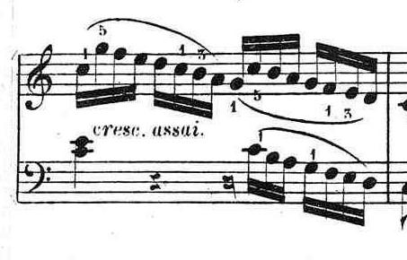 ブルグミュラー「25の練習曲第25番「貴婦人の乗馬」ハ長調Op.100-25」ピアノ楽譜5