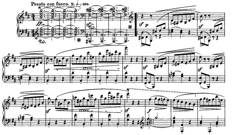 ショパン「スケルツォ第1番ロ短調Op.20」ピアノ楽譜