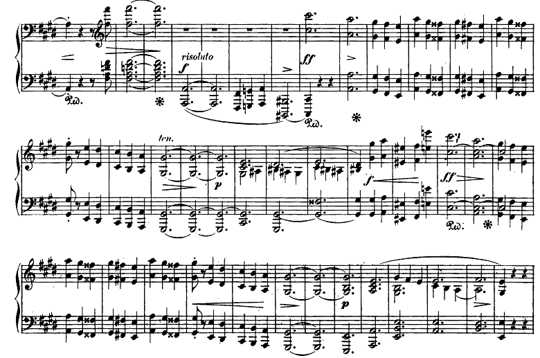ショパン「スケルツォ第3番嬰ハ短調Op.39」ピアノ楽譜