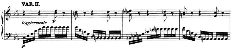 ベートーヴェン「「創作主題による32の変奏曲」ハ短調WoO.80」ピアノ楽譜3