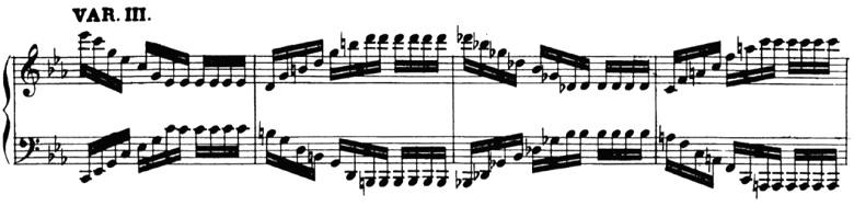 ベートーヴェン「「創作主題による32の変奏曲」ハ短調WoO.80」ピアノ楽譜4
