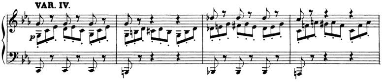 ベートーヴェン「「創作主題による32の変奏曲」ハ短調WoO.80」ピアノ楽譜5