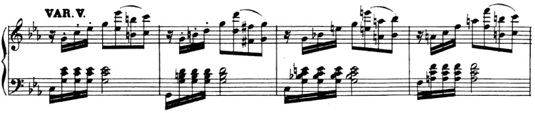 ベートーヴェン「「創作主題による32の変奏曲」ハ短調WoO.80」ピアノ楽譜6