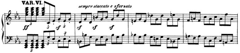 ベートーヴェン「「創作主題による32の変奏曲」ハ短調WoO.80」ピアノ楽譜7