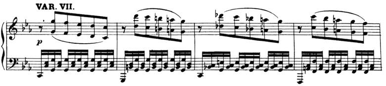 ベートーヴェン「「創作主題による32の変奏曲」ハ短調WoO.80」ピアノ楽譜9