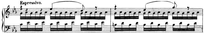 ベートーヴェン「「創作主題による32の変奏曲」ハ短調WoO.80」ピアノ楽譜11