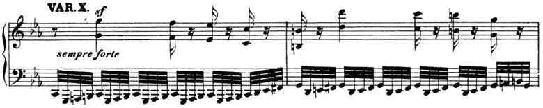 ベートーヴェン「「創作主題による32の変奏曲」ハ短調WoO.80」ピアノ楽譜12